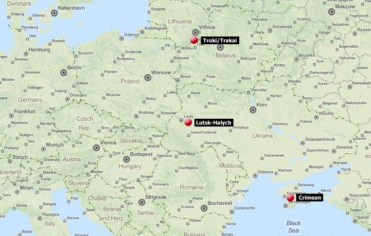 Karaims - locations